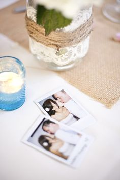 Polaroids of bride and groom | Santa Barbara Sunset Cruise Wedding | MoHa Photography