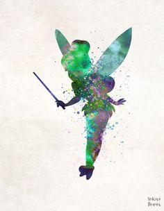 Tinkerbell Art Disney, Disney Nerd, Disney Love, Disney Pixar, Peter Pan And Tinkerbell, Peter Pan Disney, Disneyland, Peter Pan Art, Pirate Fairy
