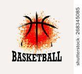 Vector Grunge Basketball ( T-shirt, Poster, Banner, backdrops design ) - stock… Basketball Shirt Designs, Basketball Drawings, Basketball Tattoos, I Love Basketball, Basketball Floor, Basketball Posters, Basketball Design, Basketball Quotes, Basketball Uniforms