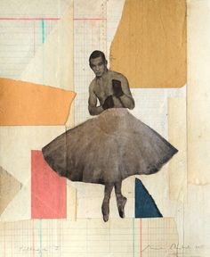 Playroom 2015 -  Març Rabal - Collage - 2015 #playroom #contemporary #art #gallery #exhibition #collage