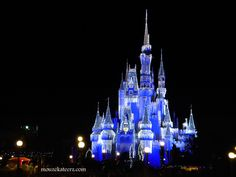 Image detail for -Disney Christmas at night, Disney Christmas castle, Disney Christmas ...