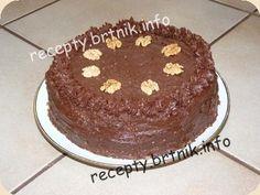 Moravský ořechový dort