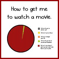 How to get me to watch a movie - The Oatmeal