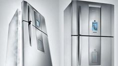 The Infinity I-Kitchen Features a Built-In Touchscreen Computer #kitchen trendhunter.com
