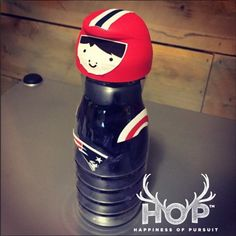 Recycling coffee mate bottles, reuse coffee creamer bottles, tom brady inflate gate bowling game, kids super bowl party game ideas, funny tom brady doll, patriots football player bowling pin, seahawks fan games | Happiness Of Pursuit