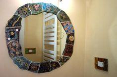 Copriprese Coperture per prese elettriche ed interruttori, create a mano in ceramica raku, pezzi unici che arredano ed impreziosiscono la tua casa.