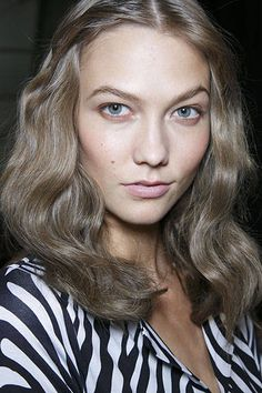 Francois Nars for Marc Jacobs Spring 2014 Runway Beauty - Hair, Makeup and Nails from New York Fashion Week Spring 2014 - Harper's BAZAAR