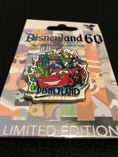 Disney Pin Disneyland 60th Anniversary Decades 2005 - 2014 Pin