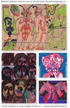 Die ausdrucksvollen Arbeiten des indonesischen Künstlers Noviadi Angkasapura erinnern an Urkraft indonesischer Barong Figuren...