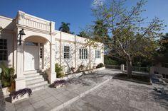 Hemingway's former tropical residence.