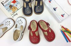 44cfe5e57 Traditional t-bar shoes for children from Menthe et Grenadine, so French and  beautiful