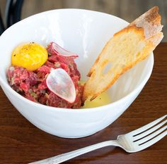 Steak Tartare - Review: Duck Duck Goose - Bethesda Magazine - September-October 2016 - Bethesda, MD