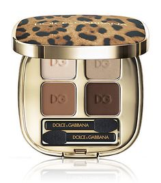 A fun touch of Dolce leopard, fashion combined with 4 complimentary colors!