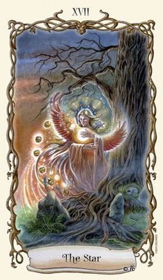 Đọc Lá XVII. The Star - Fantastical Creatures Tarot bài tarot