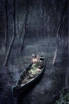 Drifting alone