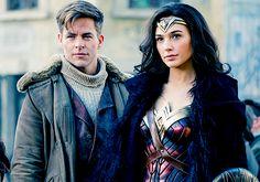 Diana Prince & Steve Trevor (Wonder Woman, 2017)