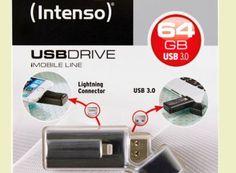 """Ebay: Intenso iMobile Line mit Lightning Connector für 44,90 Euro frei Haus https://www.discountfan.de/artikel/technik_und_haushalt/intenso-imobile-line-mit-lightning-connector.php Mehr Speicher für weniger Geld: Bei Ebay ist jetzt als """"Wow! des Tages"""" der USB-Stick """"Intenso iMobile Line"""" mit 64 GByte und Apple Lightning Connector für 44,90 Euro frei Haus zu haben – Vergleichspreise beginnen bei 50,37 Euro. Ebay: Intenso iMobile Line mit L.."""