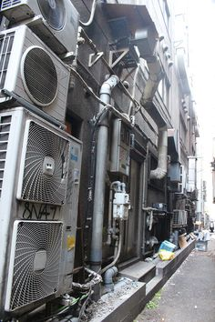 【Cyber Punk】 The alley of the alley of Kabukicho Industrial Photography, Urban Photography, Street Photography, Anime City, Temple Ruins, Japan Street, Urban Industrial, Slums, Environment Design