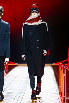 The fall 2016 collection from Dior Homme.