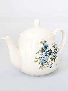 Victorian maiden teapot