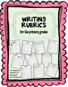 Teaching Blog Addict: Writing Rubrics