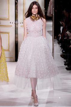 Black and white, yellow and pink features in the Giambattista Valli ...