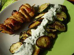 Diétás Csirke Receptek Archives - Page 3 of 4 - Salátagyár Baked Potato, Salad Recipes, Zucchini, Salads, Clean Eating, Paleo, Food And Drink, Potatoes, Baking