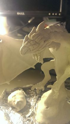 Monster Hunter, Rathalos Sculpture WIP by Me.