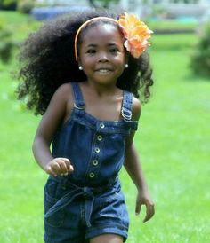 So pretty! Healthy, well-cared-for hair is any person's best accessory (except maybe a smile.) Trim your child's hair regularly and help your child learn to practice good daily hair care.