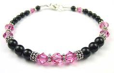 Handmade Swarovski Crystal Birthstone Beaded Bracelets by Gemstone Gifts Handmade Jewelry