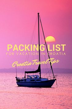 Packing List For Vacation In Croatia | Pin Me For Later!