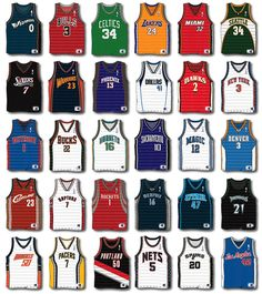 They need to update all the jersey's here. The jazz aren't even those colors. BUT it's still cool!