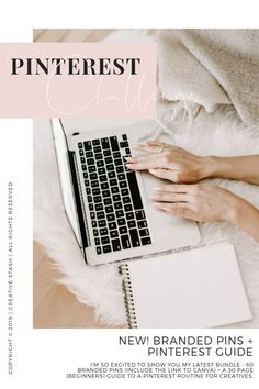 Pinterest challenge!  . 60 Customizable Canva Pinterest Templates - 600px x 900px + The Challenge Pinterest Guide - 50 pages Ebook PDF. This guide can get you started quickly and is full of Tools & Resources to help build and maintaining routine on Pinterest. #pinterestgraphics #pinterestguide