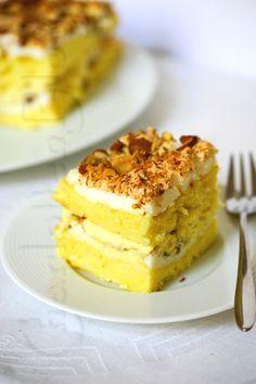 Kvæfjordkake -- Norwegian national cake