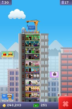 Fun tower building iOS game. I love this game. Play it all the time.