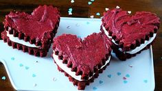 Red Velvet Brownie Hearts  http://www.tablespoon.com/recipes/red-velvet-brownie-hearts/085799c1-c992-4d97-a543-e954ccca7b63/