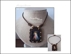 Angeles Vera Bisutería: ESPECIAL ESCAPULARIOS Pendant Necklace, Jewelry, Fashion, Necklaces, Religious Jewelry, Moustaches, Crystals, Needlepoint, Accessories