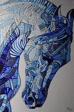 Abstract Horse 6 (Sculptural) By Paula Horsley