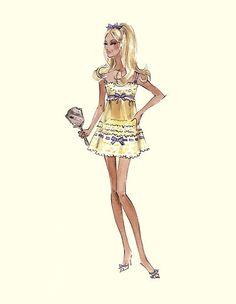 "Barbie Robert Best Print ""tout de suite"""