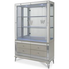 Found it at Wayfair - Hollywood Swank China Cabinet