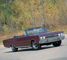 1967 Dodge Hemi Coronet R/T Comvertible, 4-Speed 1 of 2 built (total)