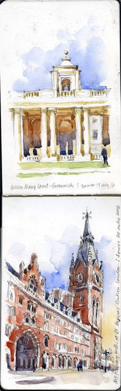 10 Sketches from London