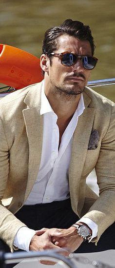 ~David James Gandy~ in glasses David Gandy Style, David James Gandy, David Gandy Suit, Sharp Dressed Man, Well Dressed Men, Stylish Men, Men Casual, Moda Formal, Herren Outfit