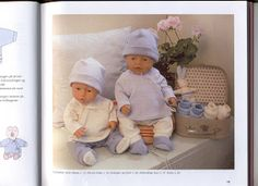 Bilde: Crochet Doll Clothes, Baby Born, Knit Crochet, Onesies, Teddy Bear, Album, Knitting, Kids, Yandex Disk