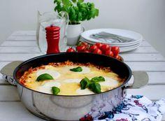 Lasagne i stekpanna- one pot lasagna