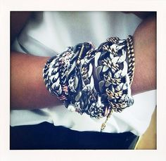 Justina Leigh chain bracelets *-*