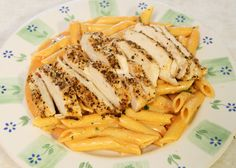 grilled chicken penne pasta tomato cream sauce recipe cooking blog