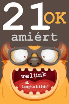 Velünk a legtutibb - http://www.babaruhaguru.hu/21_ok_amiert_velunk_a_legtutibb_21