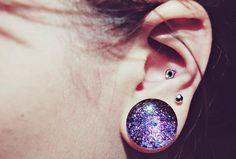 ago × Cosmic Nebula Space Galaxy Plug Ears