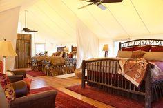 Ranch at Rock Creek - rustic - Bedroom - Other Metro - Superior Hardwoods of Montana